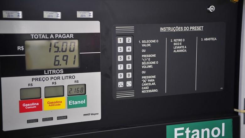cana_etanol_posto_combustivel (Foto: Ernesto de Souza/Ed. Globo)