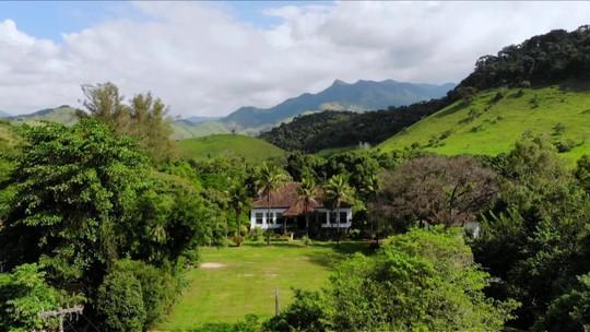 Fazendas preservadas se tornam pontos turísticos aos pés da Serra da Bocaina