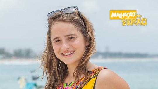Manuela Llerena dá dica de penteado pós-praia: 'Dá um volume que fica bafo!'