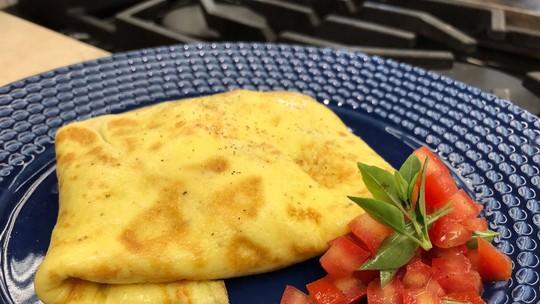 Omelete com Toque Especial