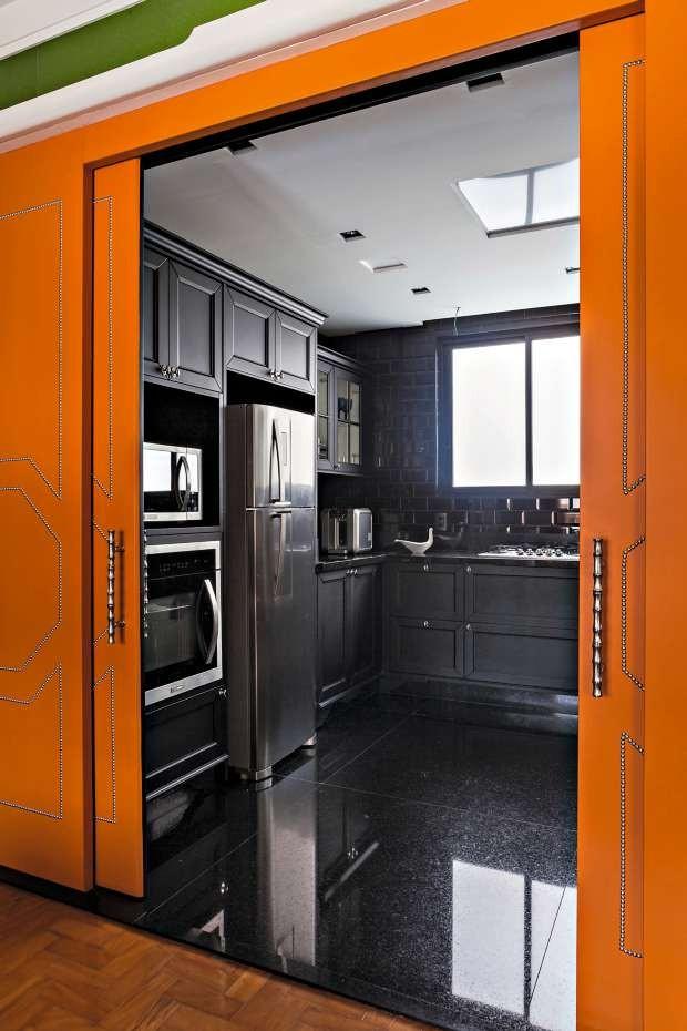 Cozinha do apartamento de Ana Lúcia  (Foto: Lufe Gomes / Editora Globo)