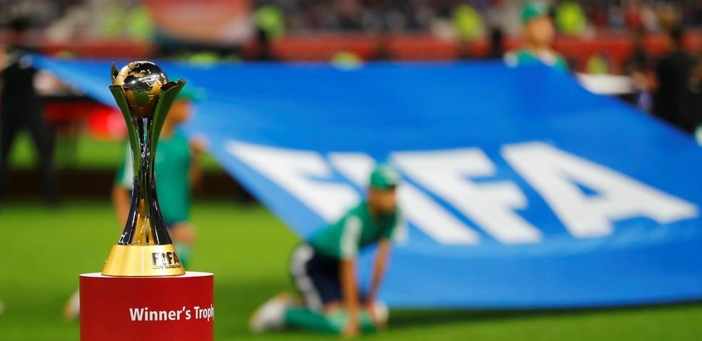 Troféu do Mundial de Clubes — Foto: Reuters