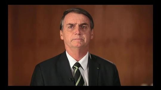 Bolsonaro elogia Bebianno em vídeo