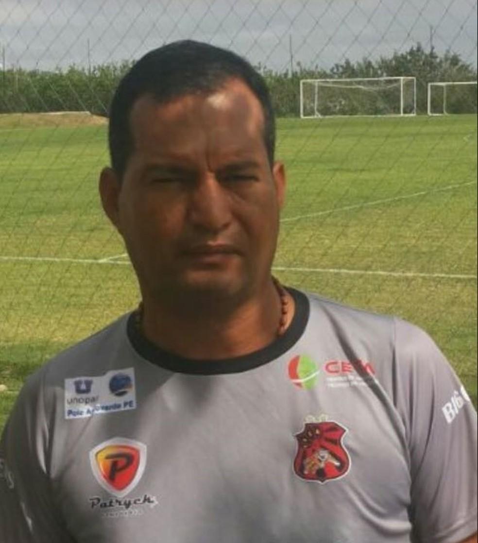 Alexandre Lima Flamengo de Arcoverde (Foto: Alexandre Lima/Arquivo Pessoal)