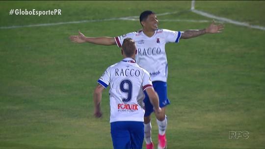 Paraná Clube embala, goleia e se firma no G4