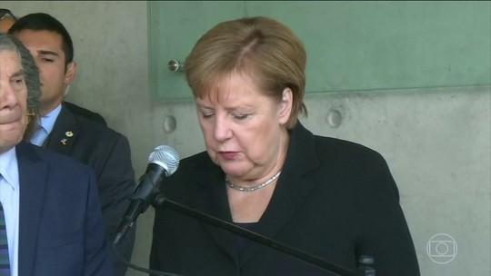 Merkel reconhece em Jerusalém 'responsabilidade perpétua' da Alemanha frente a antissemitismo