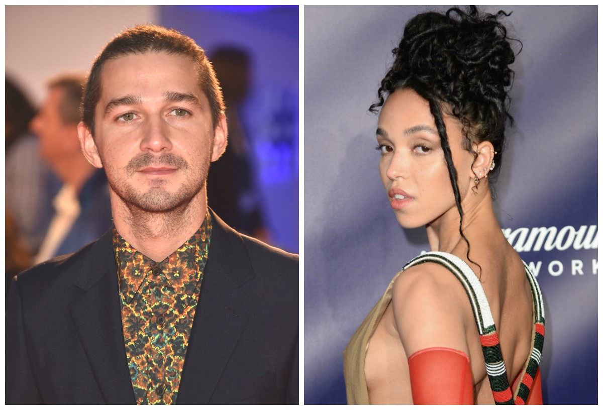 Shia LaBeouf e FKA Twigs, o novo casal de Hollywood (Foto: getty)
