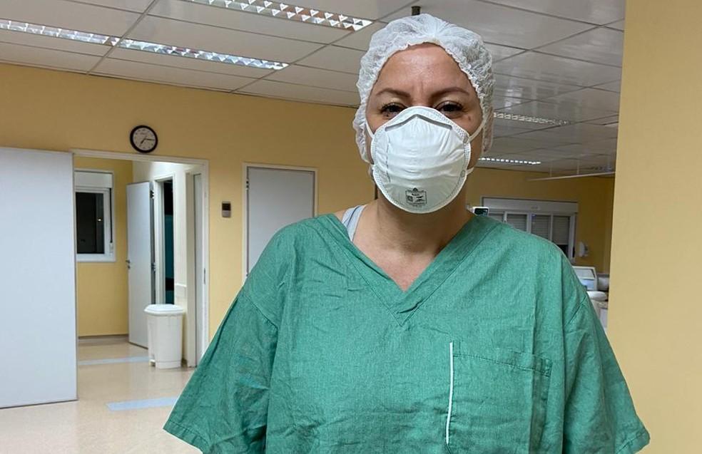 Médica relata plantões de 48h e frustração por perder pacientes para a Covid — Foto: Arquivo Pessoal