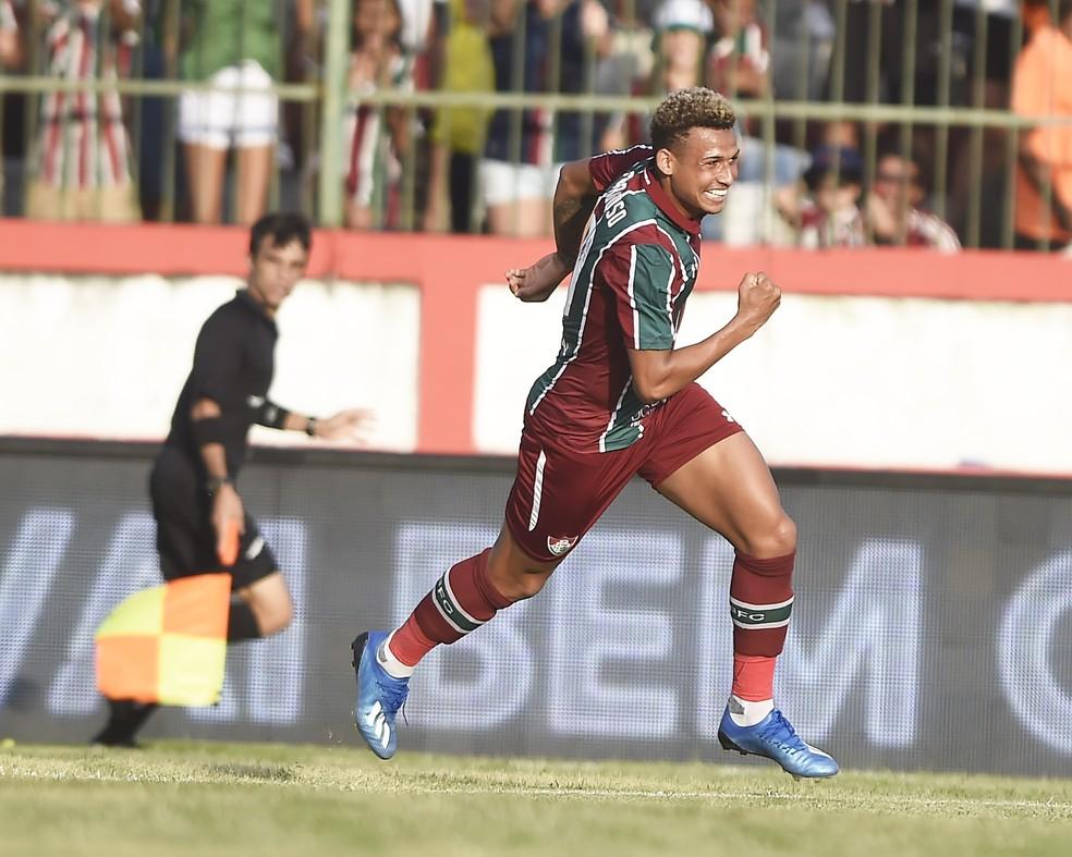 Ex-Osvaldo Cruz, Felippe Cardoso é um dos reforços do Fluminense — Foto: André Durão