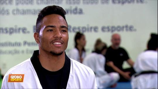 Promessa do taekwondo, Leandro Souza sai de casa e de antiga academia por sonho olímpico