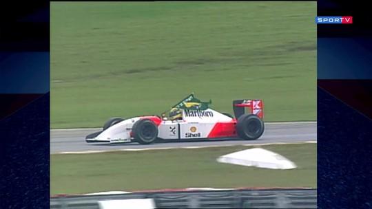 #TdT: Assista ao GP do Brasil de 1993 no SporTV2 neste domingo