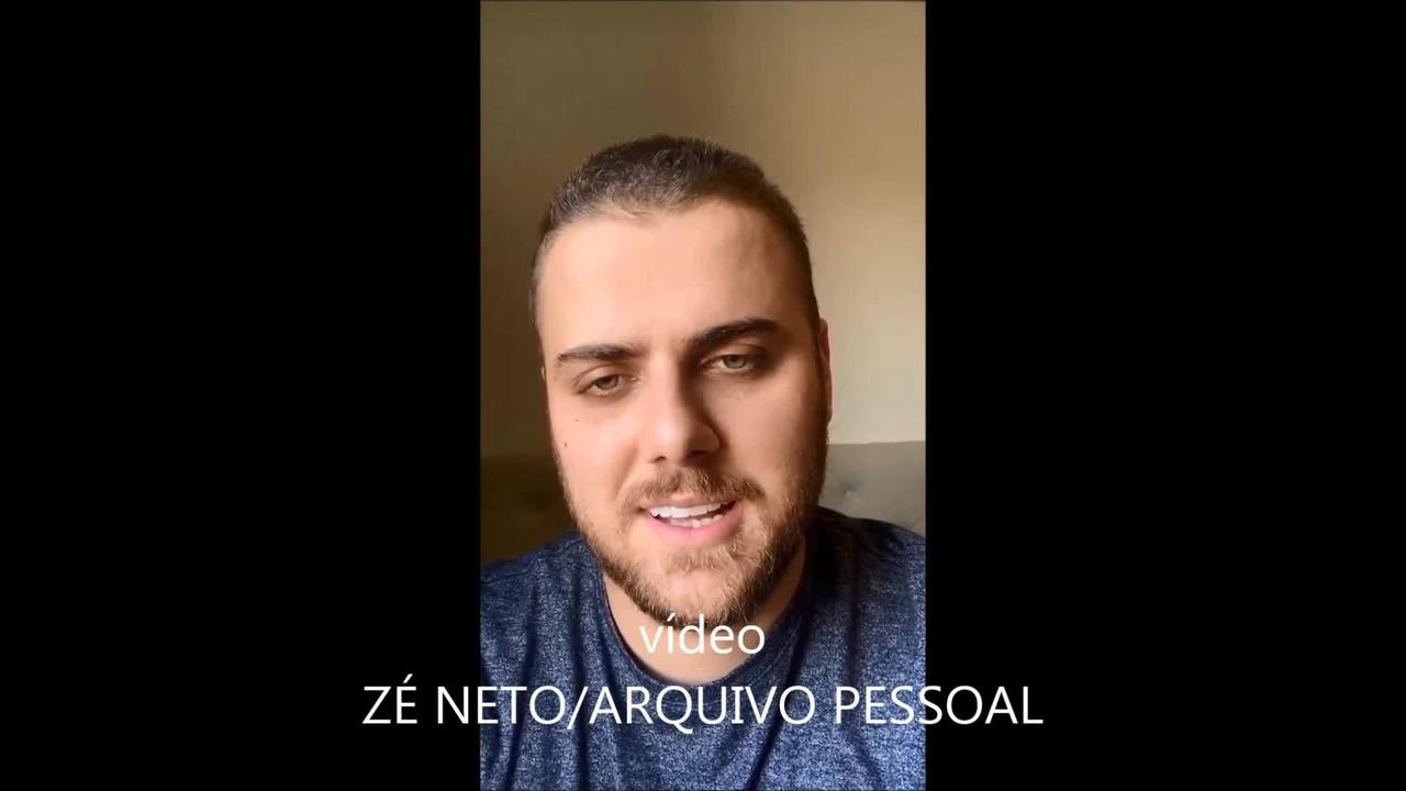 Sertanejo Zé Neto, da dupla com Cristiano, revela que testou positivo para Covid-19