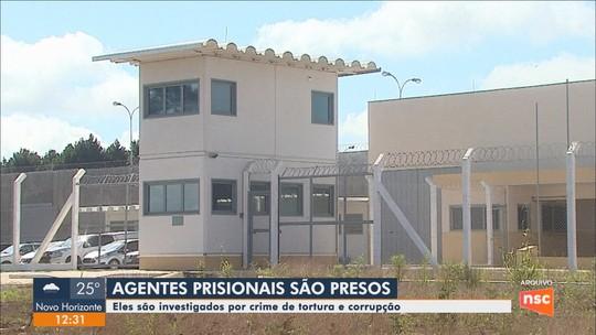 Dois ex-diretores e ex-chefe de segurança do Presídio de Caçador são presos por suspeita de tortura