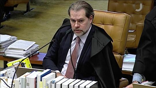 Ministro Toffoli, do STF, manda sete ações para instâncias inferiores