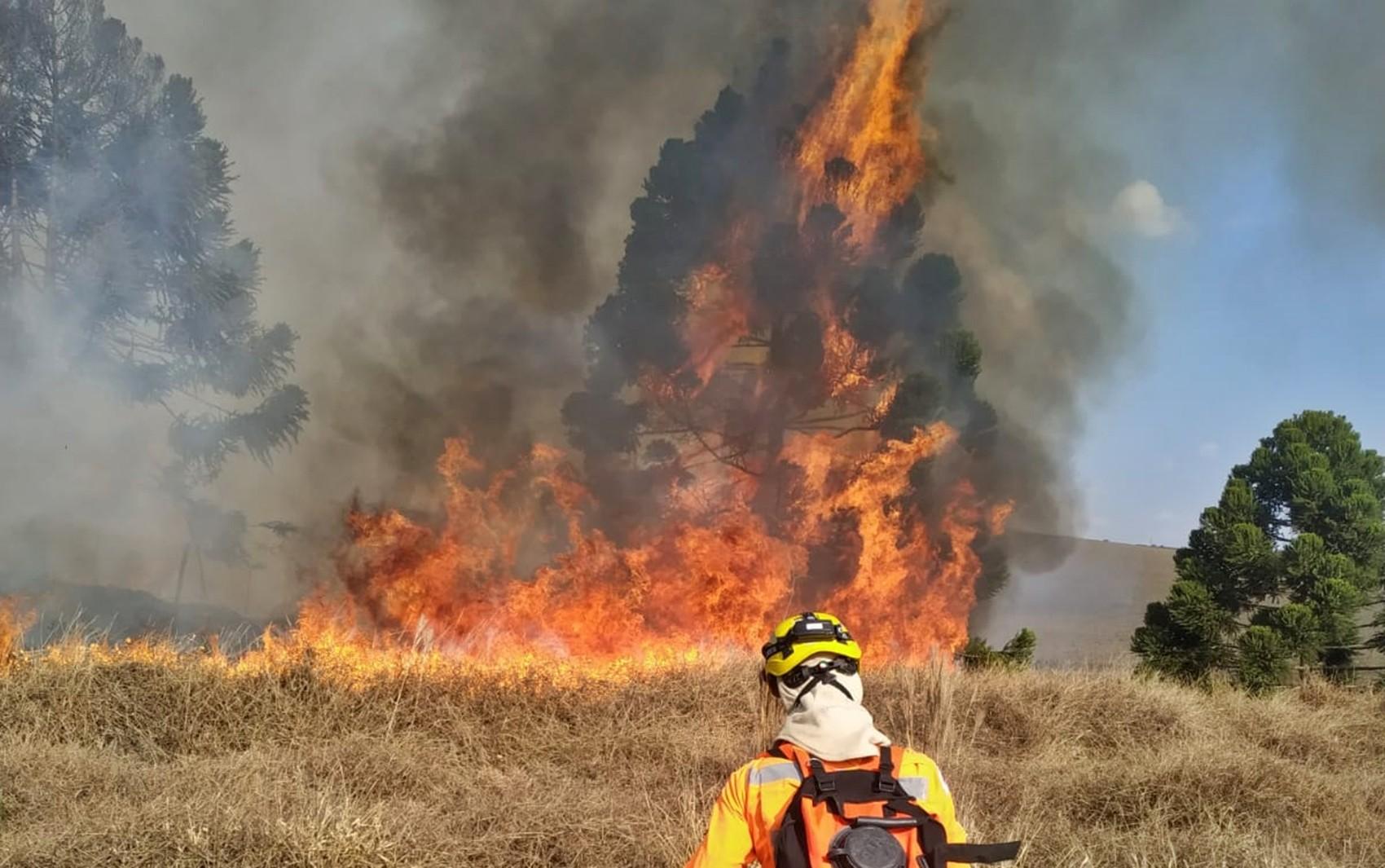 Minas Gerais tem uma unidade de bombeiros para atender uma média de onze cidades