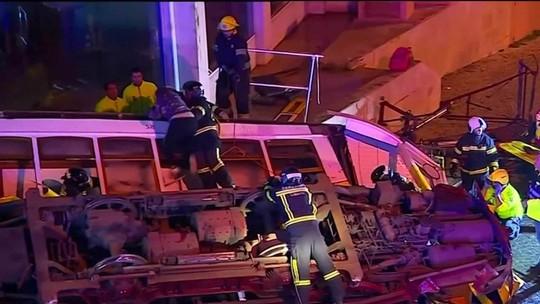 Acidente com bondinho deixa 28 feridos em Lisboa