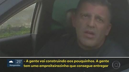 Homem que se identifica como capitão da PM vende imóveis ilegais na Taquara