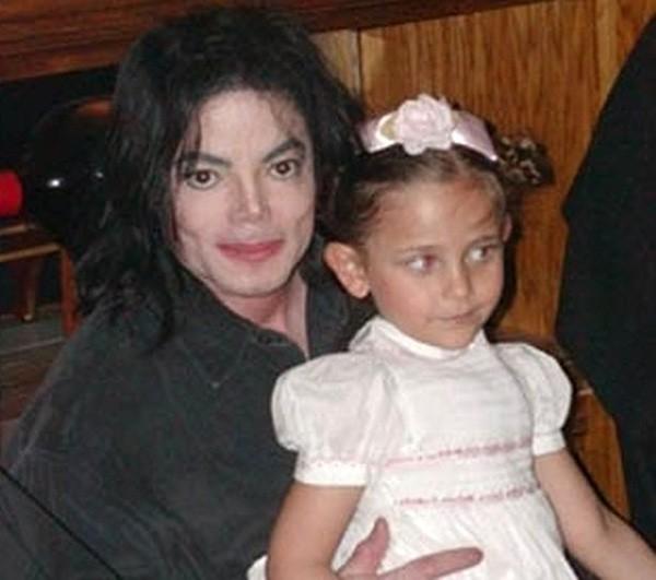 Michael e Paris Jackson (Foto: Twitter)