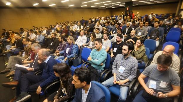 O evento aconteceu como parte do programa Startup SP (Foto: Divulgação)