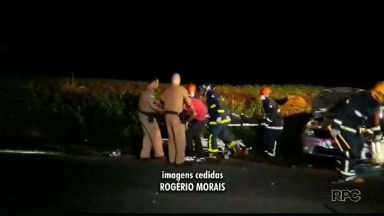Duas pessoas morrem e sete ficam feridas em acidentes registrados em Paiçandu e Loanda