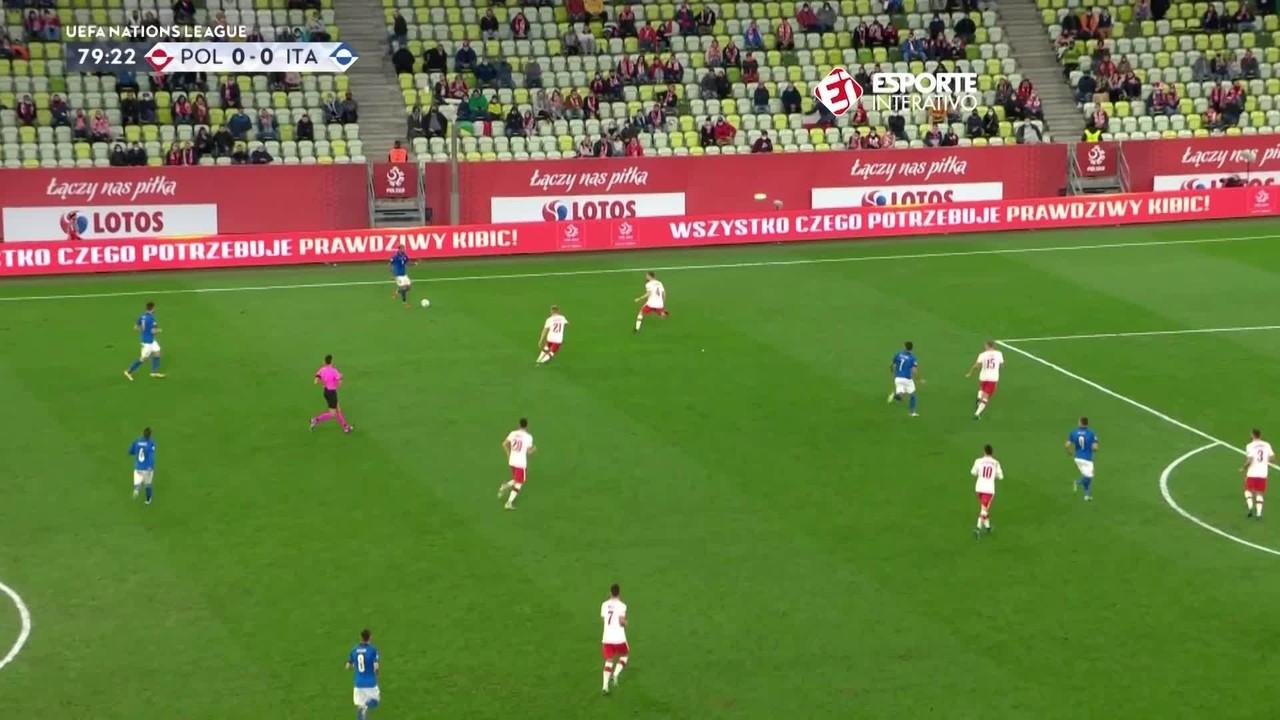 Polônia 0 x 0 Itália: Azzurra lidera Grupo 1