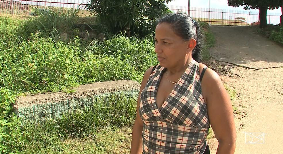 Ronila Carvalho já teve chikungunya e teme uma epidemia por conta da greve dos agentes de endemias em São Luís — Foto: Reprodução/TV Mirante