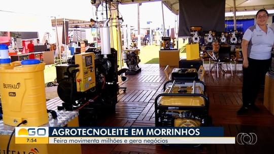 Tecnoleite atrai produtores rurais a Morrinhos