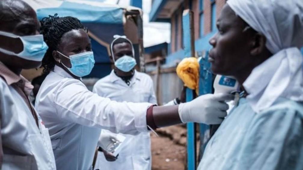 A África aprendeu lições valiosas com o ebola e, agora, está fazendo o mesmo com o coronavírus — Foto: Getty Images/Via BBC