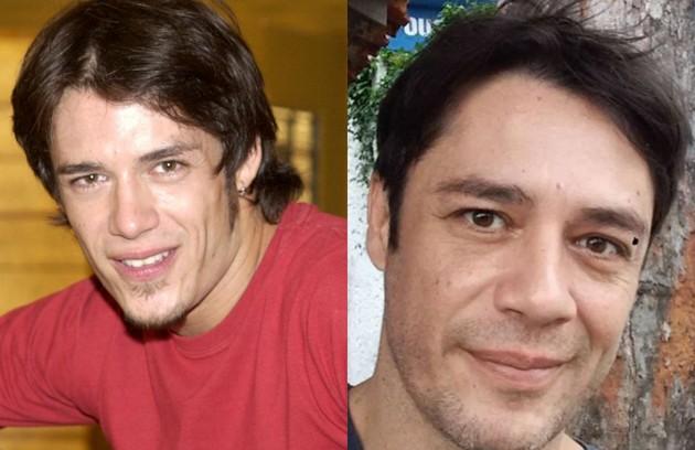 Igor Cotrim interpretou o bad boy Boca. Atualmente, está no elenco da série 'Amor de quatro', que ganhará uma segunda temporada no Canal Brasil (Foto: TV Globo e reprodução)