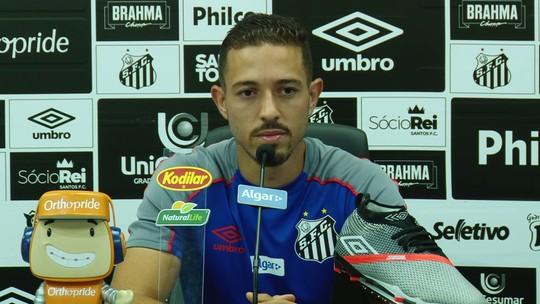 """Jean Mota, sobre clássico com Palmeiras: """"Temos que pensar que somos favoritos"""""""