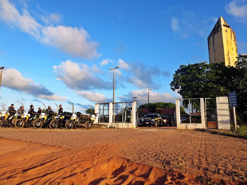 Penitenciária Estadual de Alcaçuz (Foto: Andréa Tavares/G1)