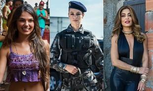 'A força do querer' conta a história de três mulheres bem diferentes: Ritinha (Isis Valverde), Jeiza (Paolla Oliveira) e Bibi (Juliana Paes) | Reprodução