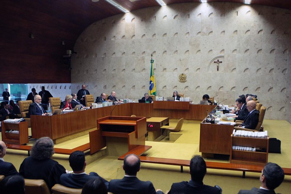 STF debate prisão domiciliar do deputado afastado Paulo Maluf (Foto: Carlos Moura/STF)