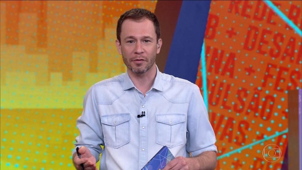 BBB21: Tiago Leifert explica a dinâmica da décima semana — Foto: Globo