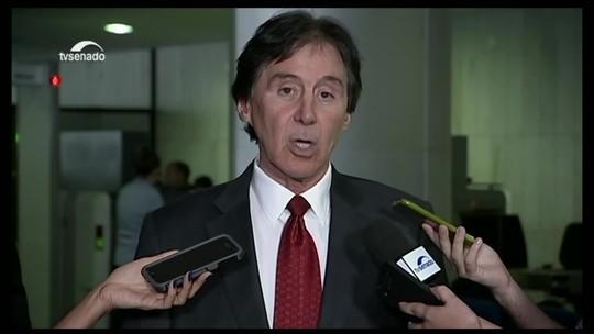 Eunício diz que não pautará projeto sobre indicações políticas se proposta incluir estatal