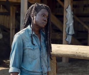 Danai Gurira em cena de 'The walking dead' | Divulgação/AMC