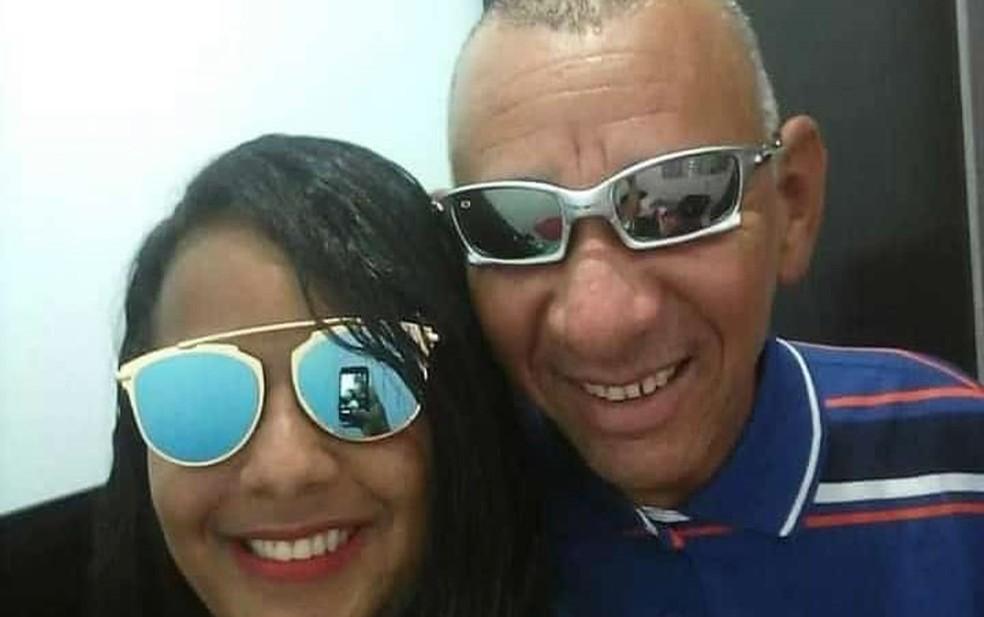 Fernanda e Ebervan morreram na explosão da fábrica de fogos, em Crisópolis — Foto: Arquivo pessoal