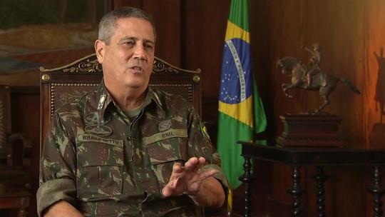 Resultado de imagem para General Braga Netto