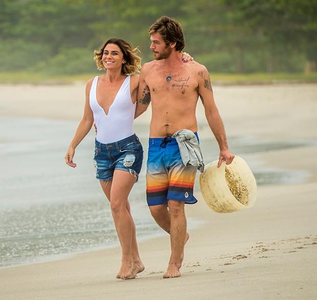 Giovanna Antonelli e Emilio Dantas (Foto: Globo / João Cotta)