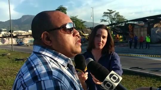 Diretor de carnaval da Renascer de Jacarepaguá fala sobre incêndio no barracão da