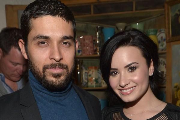 Lovato namorou durante seis anos com o ator Wilmer Valderrama  (Foto: Getty Images)