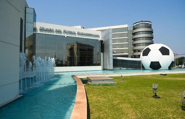 Museu do futebol sul-americano no Paraguai (Foto: Divulgação)