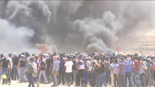 Confrontos em Gaza deixam mais de 50 mortos no dia em que EUA inauguram embaixada em Jerusalém