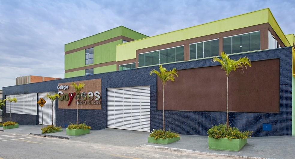 Tiroteio ocorreu no Colégio Goyases, em Goiânia (Foto: Reprodução/Goyases)