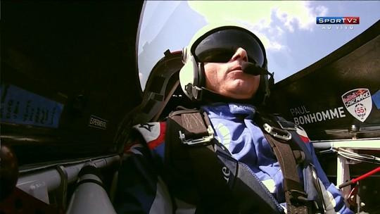 Bonhomme vence 6ª etapa e mantém liderança do Mundial de Corrida Aérea