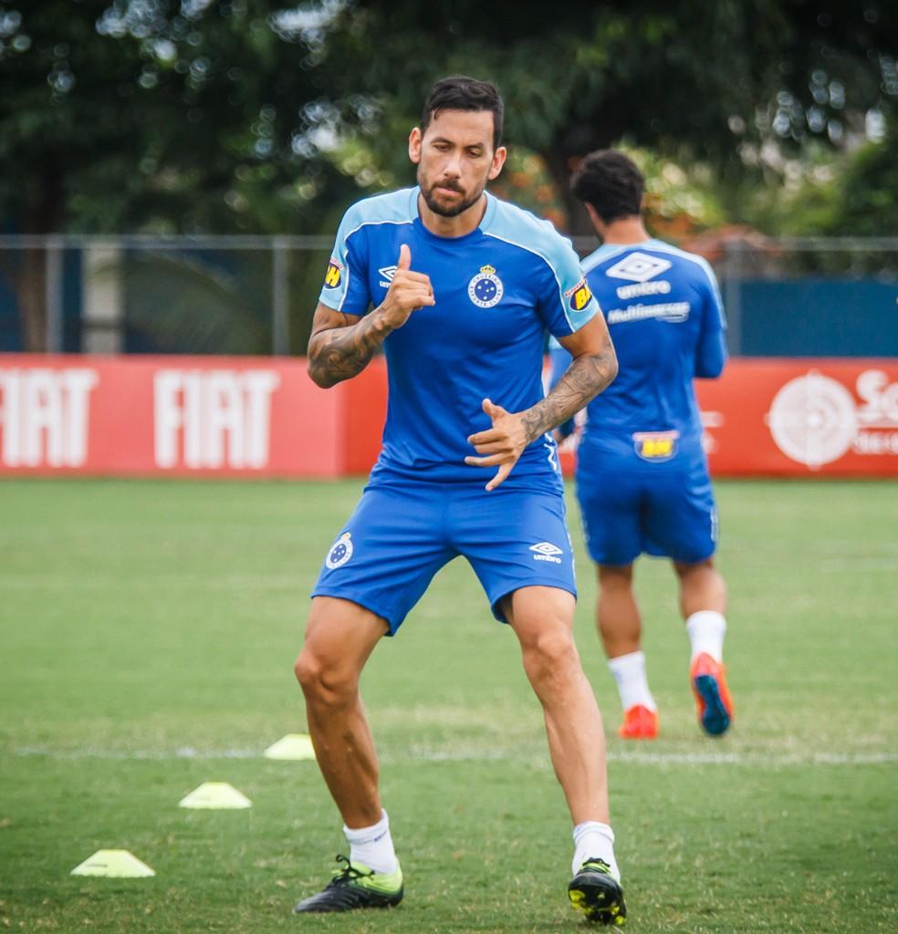 Ariel Cabral, Cruzeiro — Foto: Vinnicius Silva/Cruzeiro
