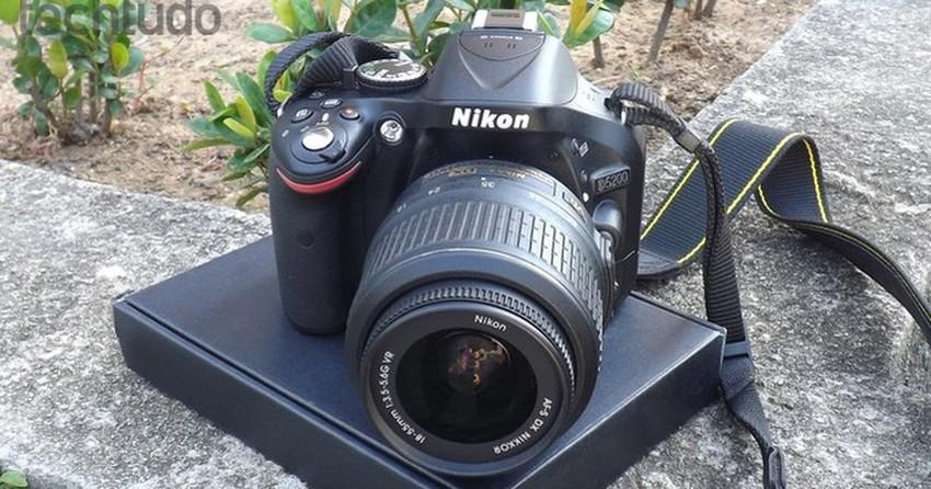 358df8948 Produza fotos com qualidade profissional usando uma câmera Nikon D5200 |  Notícias | TechTudo