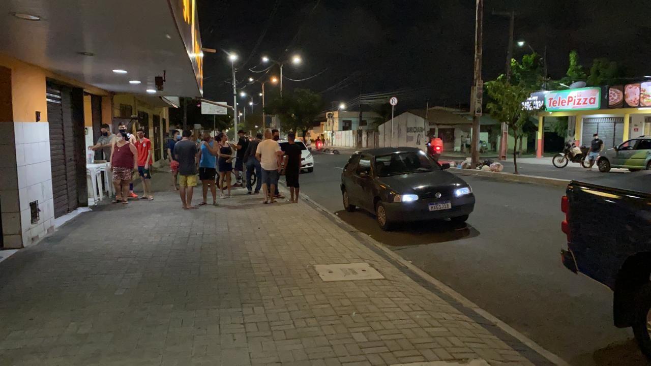 Pedestre morre atropelado por motociclista ao tentar atravessar a Av. Fernandes Távora, em Fortaleza