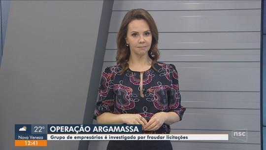 Operação Argamassa cumpre mandados judiciais em 9 cidades de SC contra fraudes em licitações
