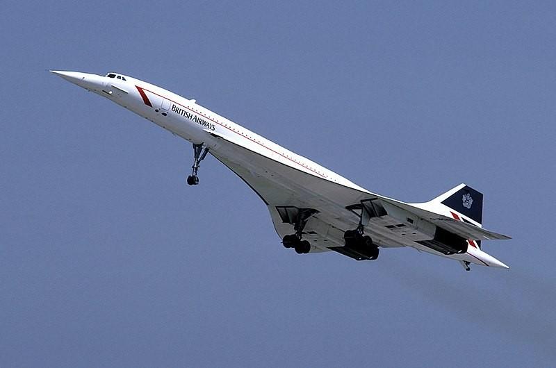 Concorde, modelo de avião supersônico que voou pelos céus até 2003 (Foto: Wikimedia Commons)